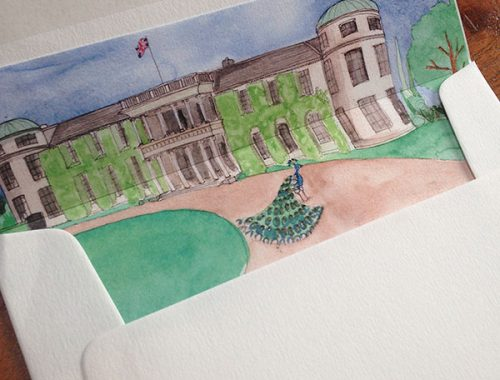 Goodwood house envelope liner