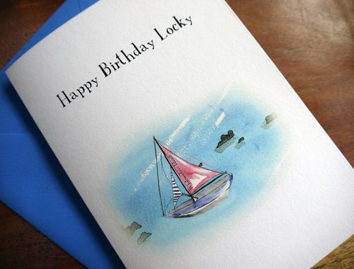 Special birthday card design